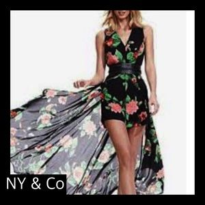 New York and Company Romper Dress